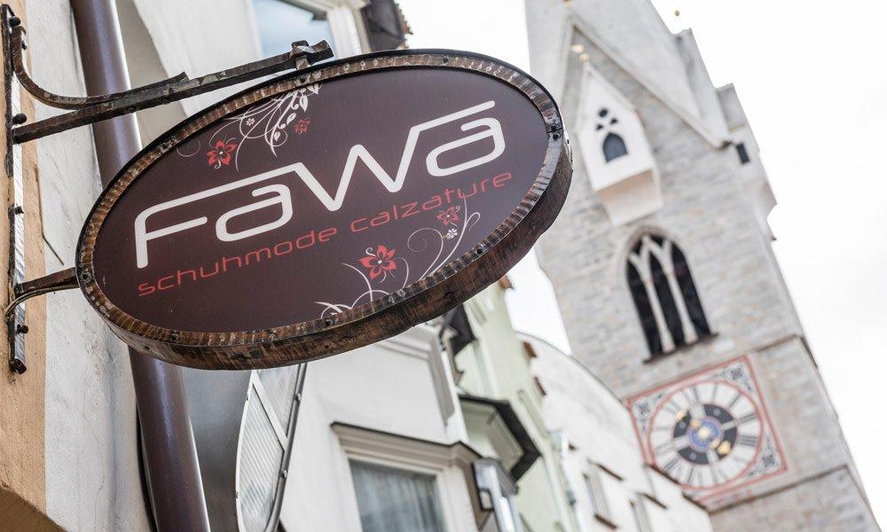 Das Fawa Schuhmode - Ihr Schuhgeschäft in Vahrn und Brixen